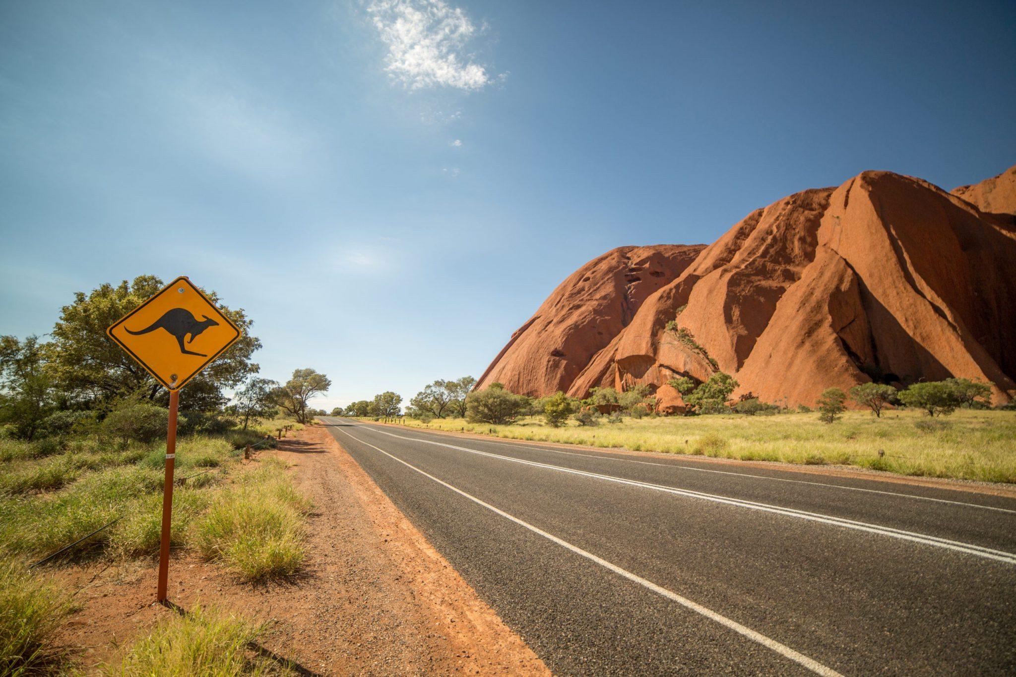 Cestování Austrálie za nejkrásnějšími oblastmi