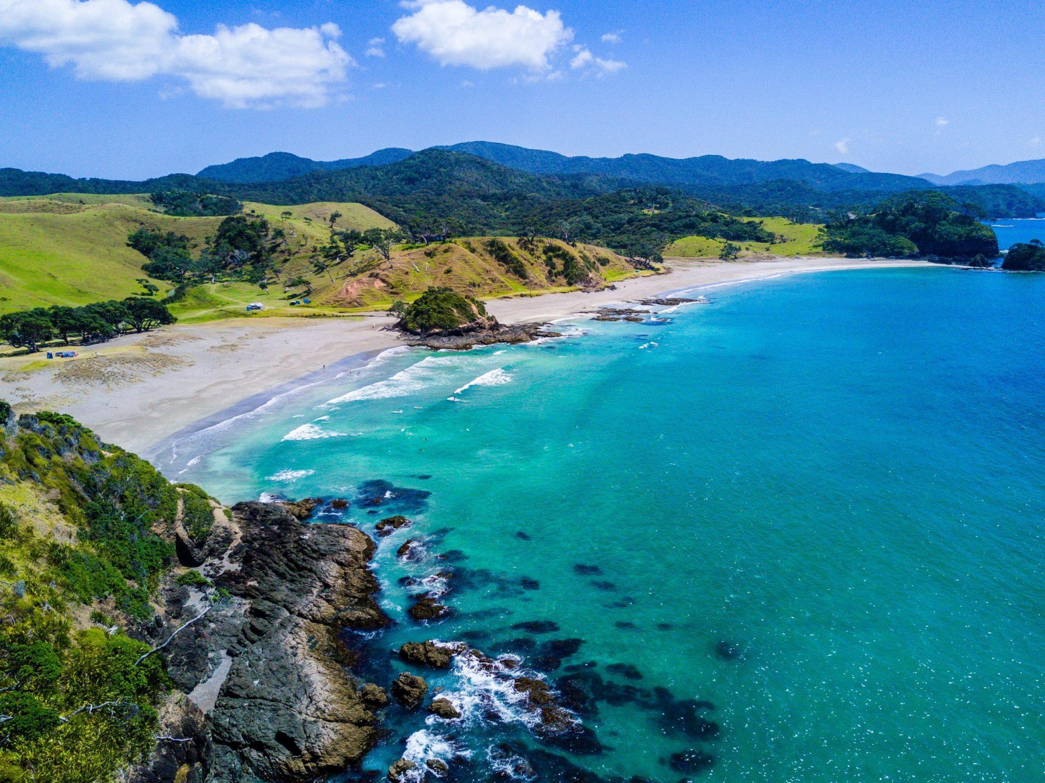 Cestování Nový Zéland