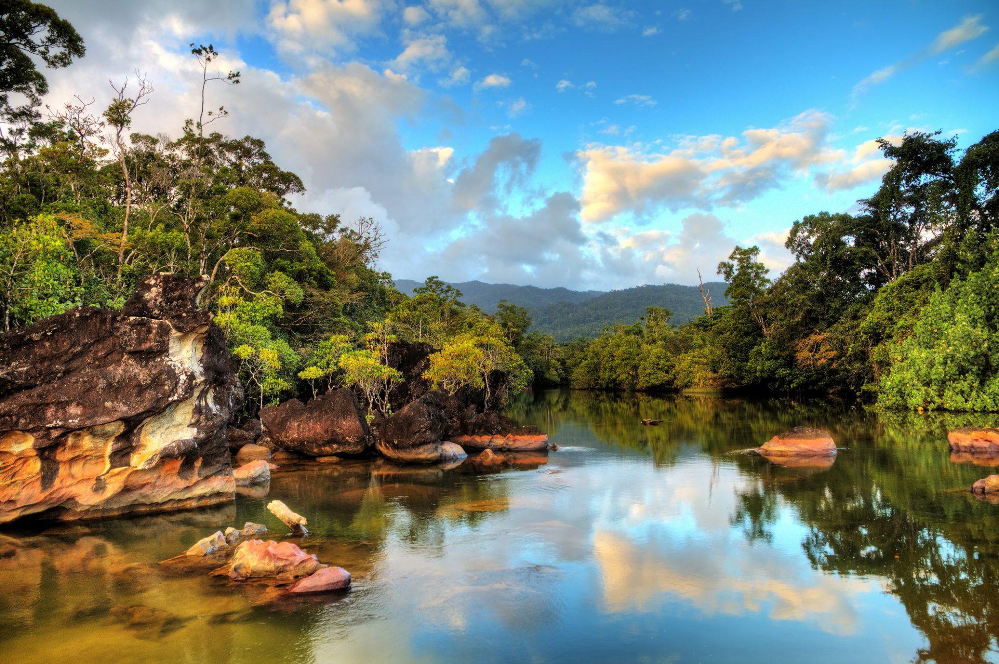 Tropical river Masoala